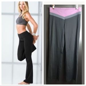 VICTORIA'S SECRET VSX Sport Flare Pants Yoga Knit